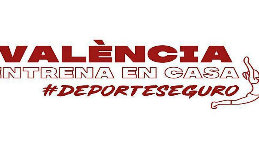 La FDM vuelve a poner en marcha el programa #ValènciaEntrenaEnCasa