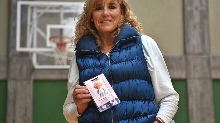 Ángela Rodríguez, una coruñesa en el 'hall of fame' del baloncesto español