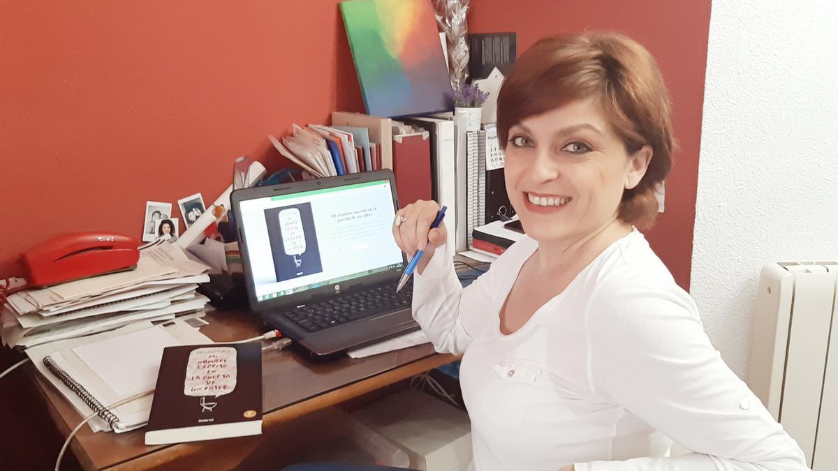 La escritora Paz Castelló.