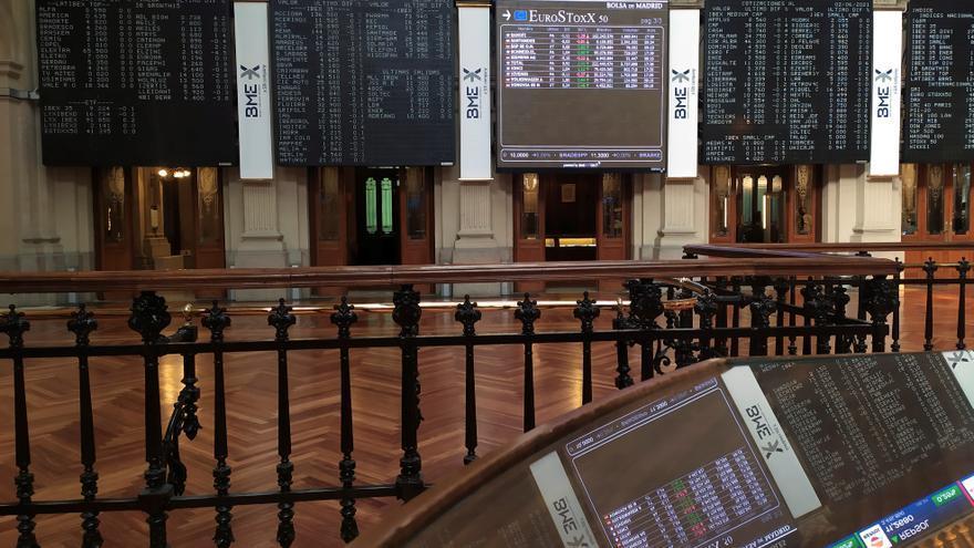 El Ibex 35 se aleja de los 9.200 puntos con una caída del 0,42%