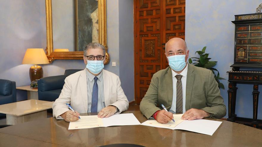 La Diputación renueva la colaboración con la Asociación Española de Amigos de los Castillos