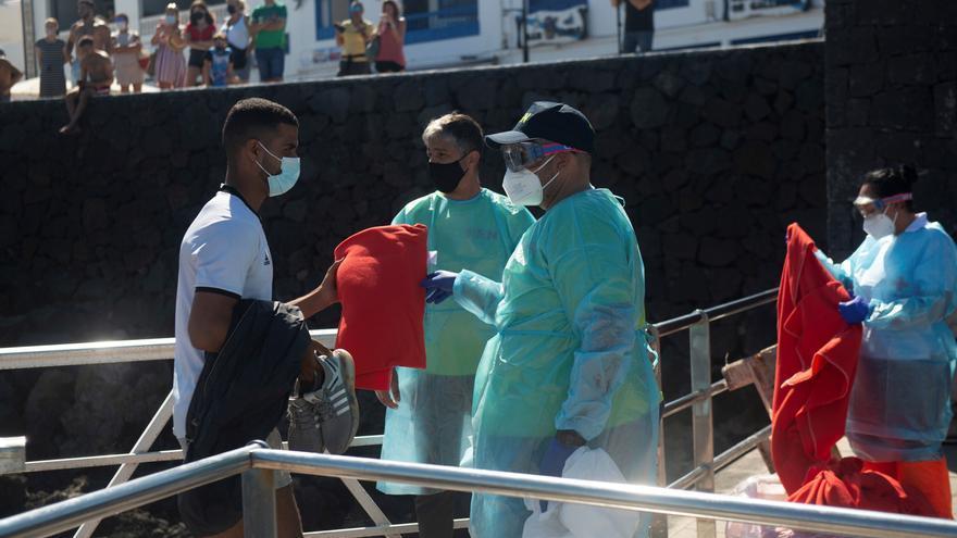 Tres embarcaciones con al menos 89 inmigrantes en las costas de Lanzarote