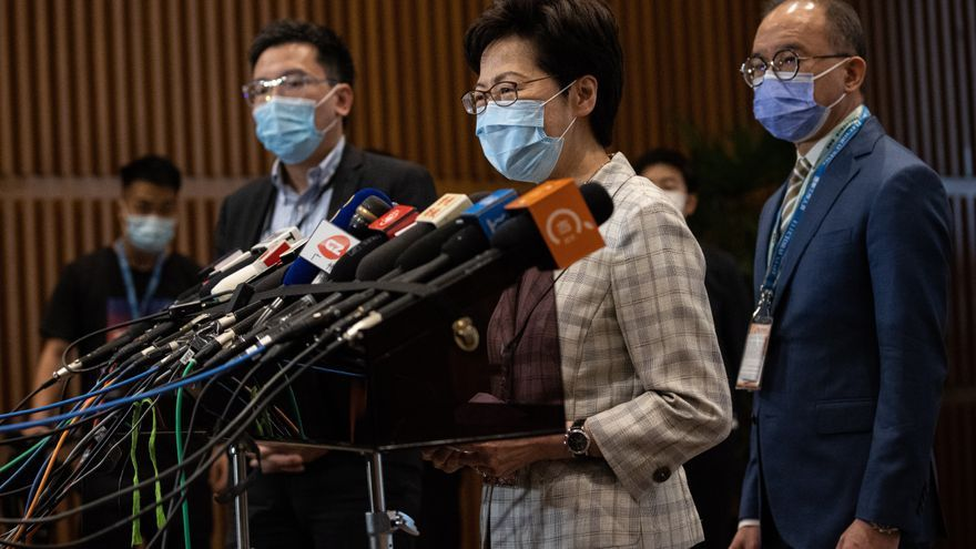 Hong Kong despliega 5.000 policías durante las votaciones para el Comité Electoral