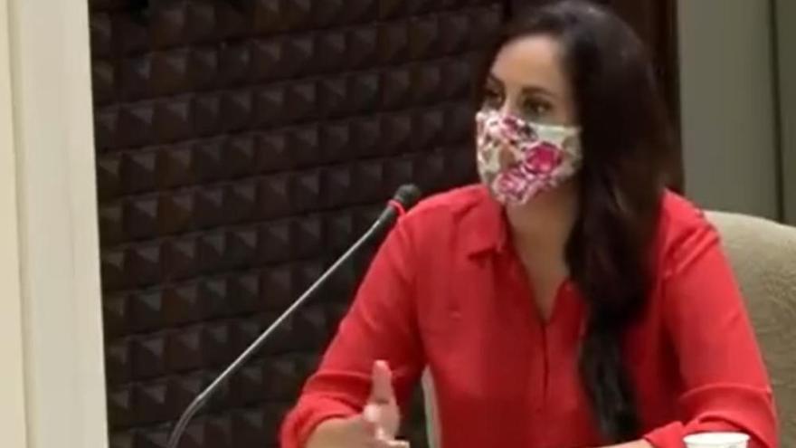 """Vidina Espino """"agradecida"""" de que su intervención en el Pleno se viralizara"""