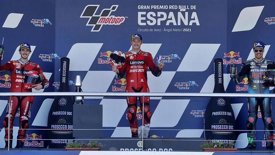 Miller aprofita els problemes de Quartararo i guanya a Jerez
