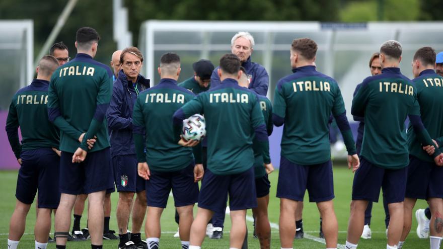 Italia prepara la pólvora para el choque en la final de la Euro ante Inglaterra