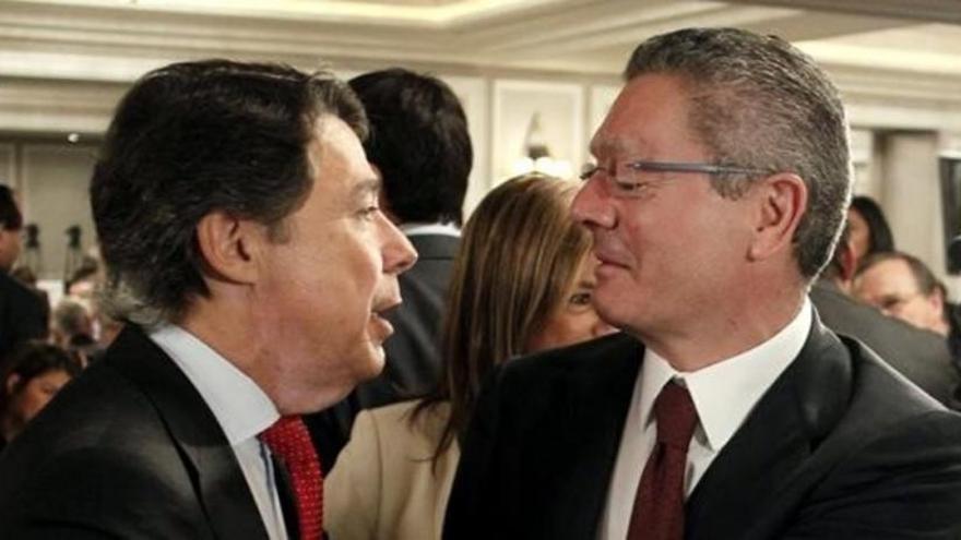 Gallardón y González se reunieron tras los primeros escándalos del Canal