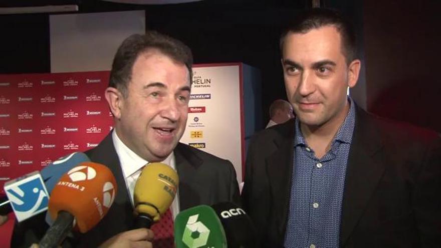El Lasarte de Barcelona obté la tercera estrella Michelin i el Miramar manté les dues