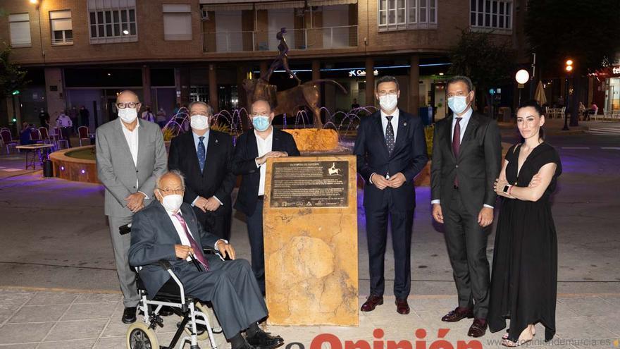 Inauguración 'El rapto de Europa' de Carrilero en Caravaca