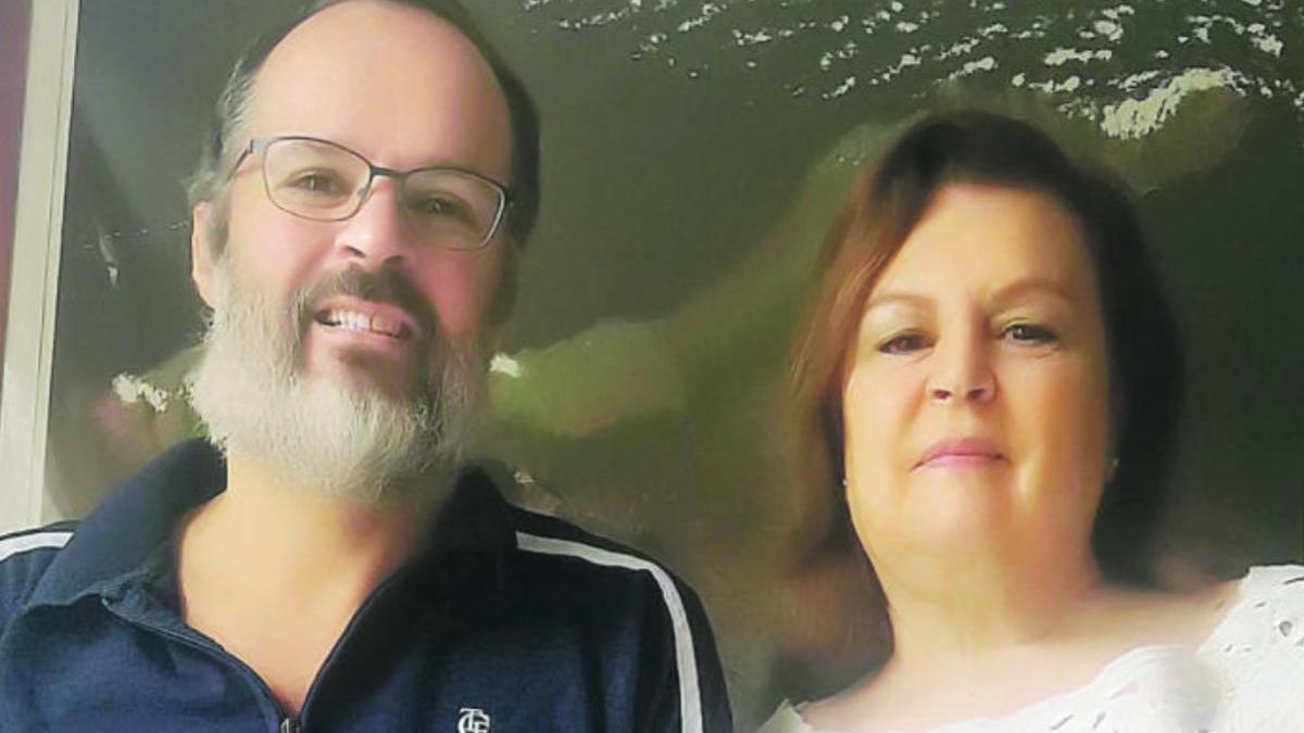 Juan Carlos Marrero y su madre, Laura Delgado, permanecen en Caracas desde el 9 de marzo sin poder volver a Tenerife