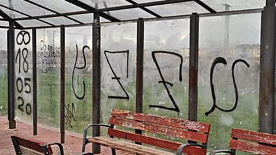 Los actos vandálicos en Benavente persisten