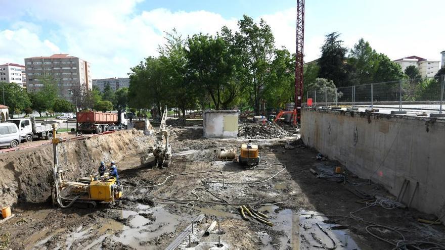 Concluye la demolición de las viejas piscinas de Campolongo