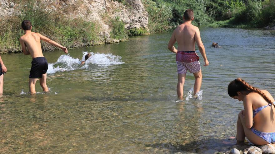 Las playas fluviales se extienden en la Safor tras décadas de ríos abandonados