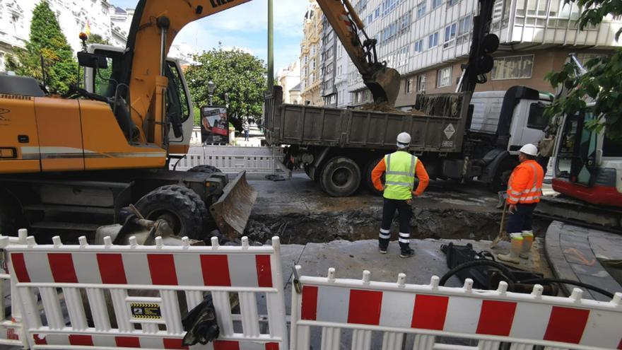 El tramo de Federico Tapia cortado por obras reabre al tráfico esta tarde