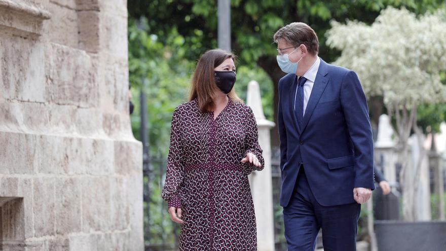 La Generalitat y el Gobierno de Baleares preparan una cumbre para establecer estrategias económicas y sociales