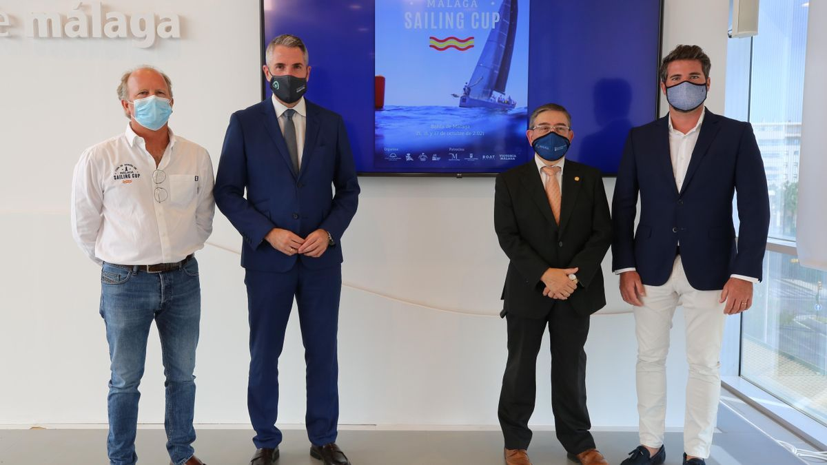 Presentación de la Málaga Sailing Cup en la diputación.
