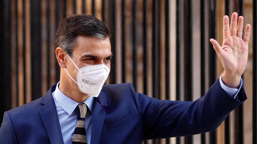 """Sánchez afirma que estamos ante el """"principio del fin"""" de la pandemia del coronavirus"""