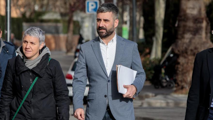 Suspendida la declaración de Pere Fuset en la Ciudad de la Justicia por un corte de luz