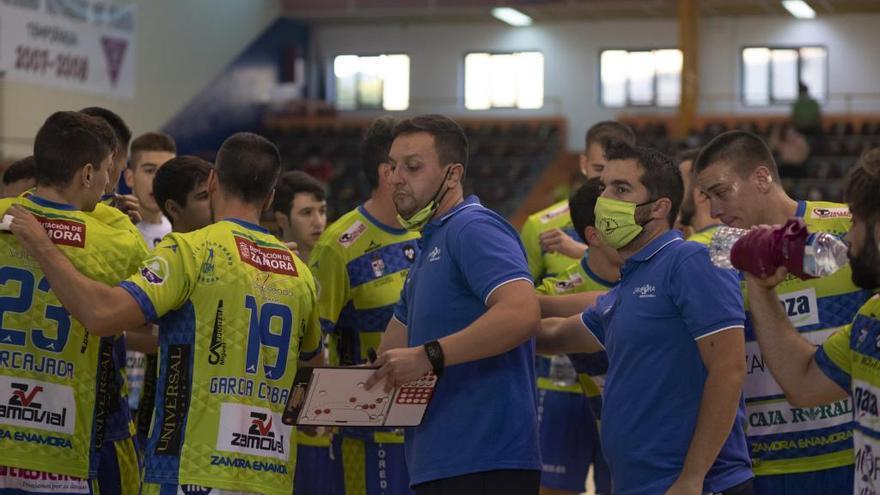 Aislado un  jugador del Balonmano Zamora por positivo en COVID-19