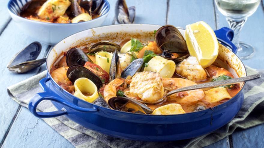 Zarzuela de Mariscos – Meeresfrüchte-Suppe