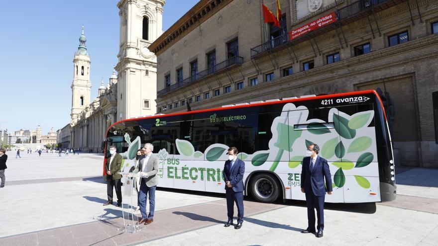 Zaragoza invertirá 46 millones en la compra de 68 autobuses eléctricos