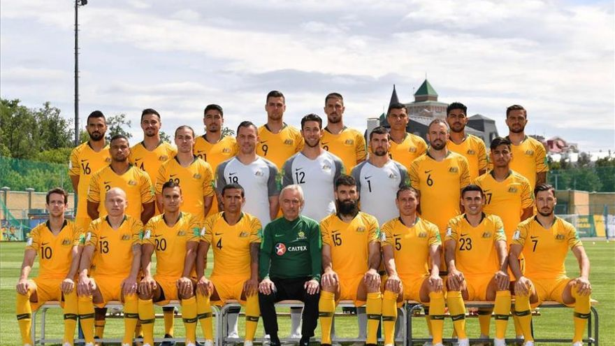 Los 'Socceroos' recurren a la experiencia de Van Marwijk