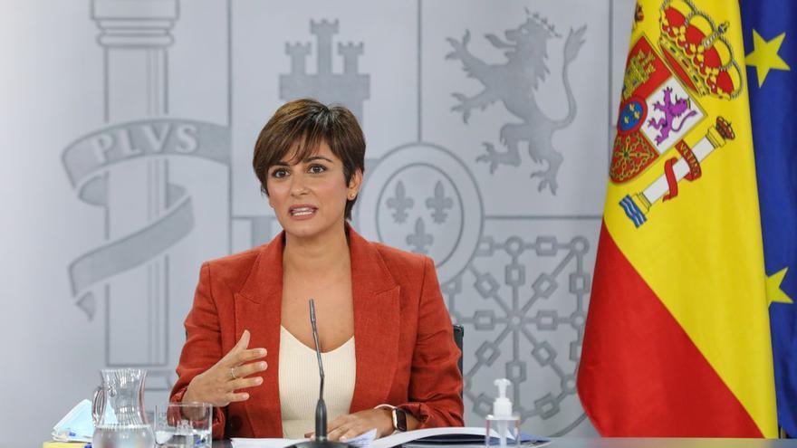 La ministra de Política Territorial visita este viernes las zonas afectadas por el volcán de La Palma