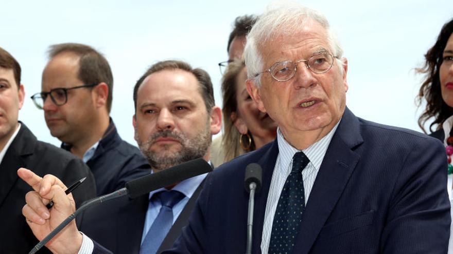 "Borrell recalca que ""el independentismo es contrario a lo que representa Europa"""