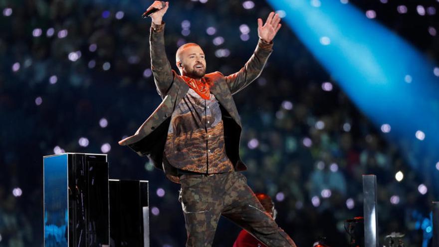 Justin Timberlake, número 1 en EEUU con su nuevo disco