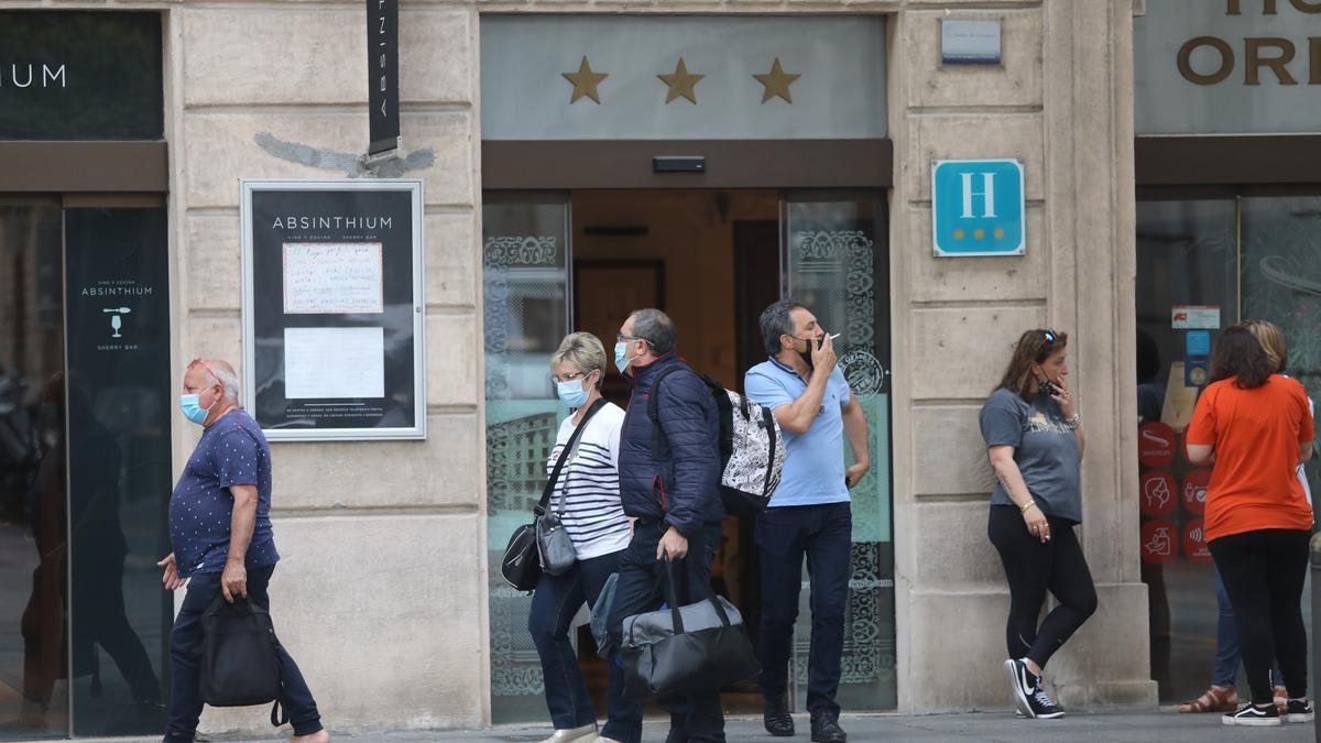 Turismo en los hoteles del centro de Zaragoza.