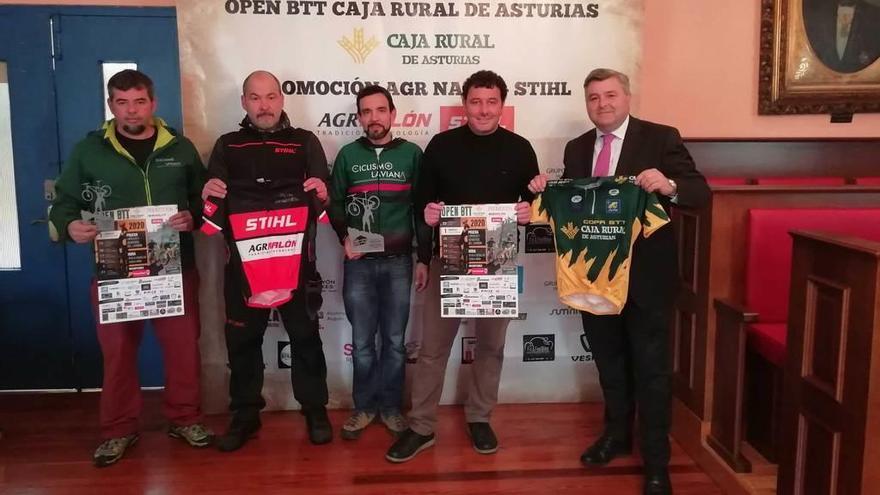 Las rutas para bicicleta de Laviana ya suman 156 kilómetros