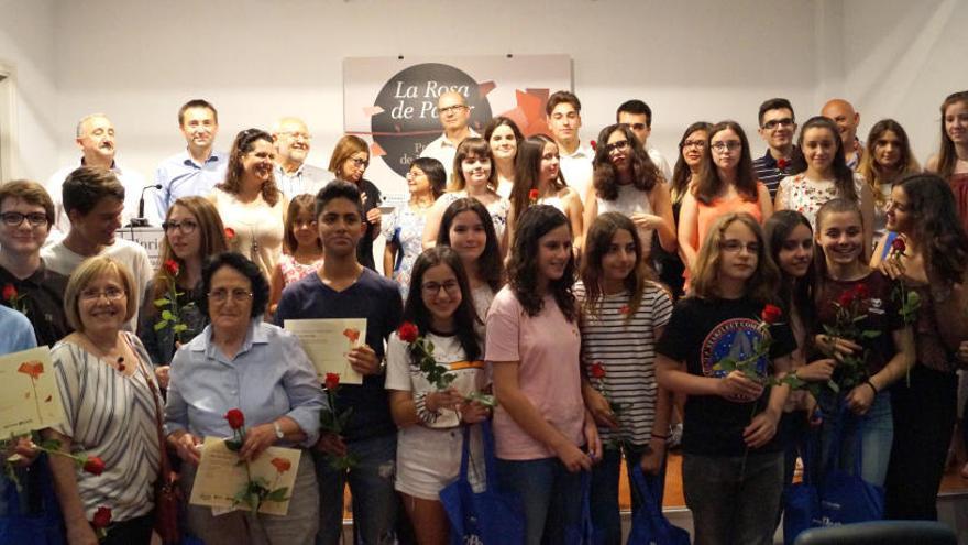 Florida Grup Educatiu lliura els XXII premis de la Rosa de Paper