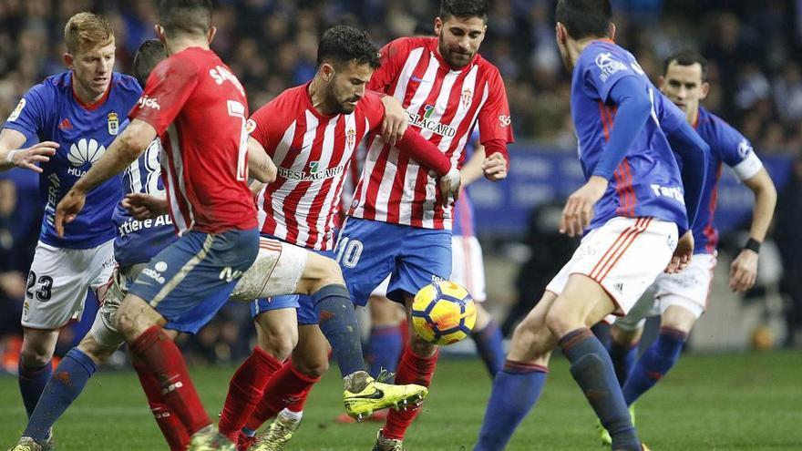 El derbi entre Oviedo y Sporting se jugará el sábado 17 de noviembre a las 20.45 horas en el Tartiere
