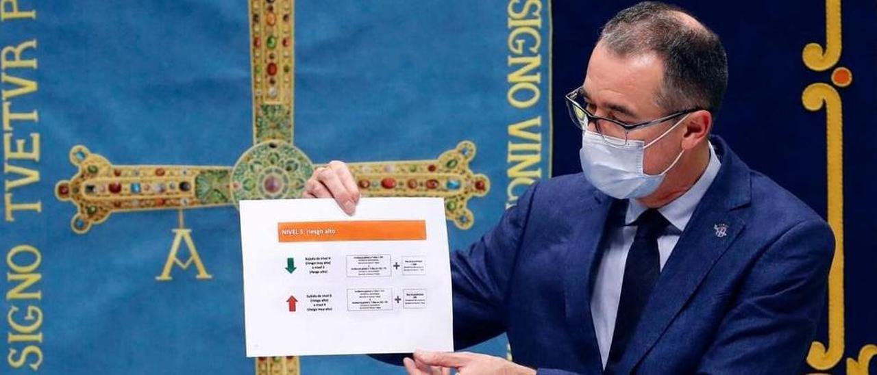 El consejero de Salud del Gobierno del Principado, Pablo Fernández.