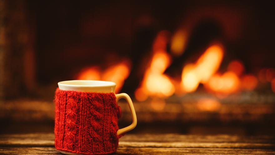 Café mágico de invierno