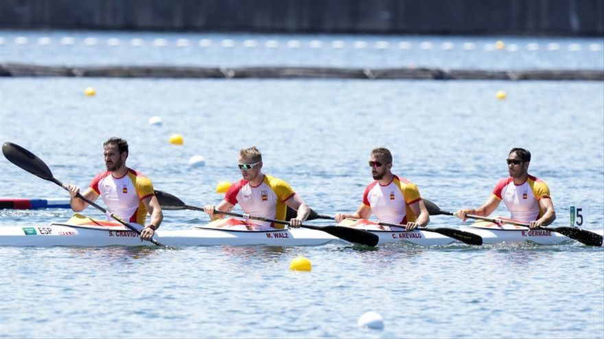 El 'dream team' de Craviotto aconsegueix la plata