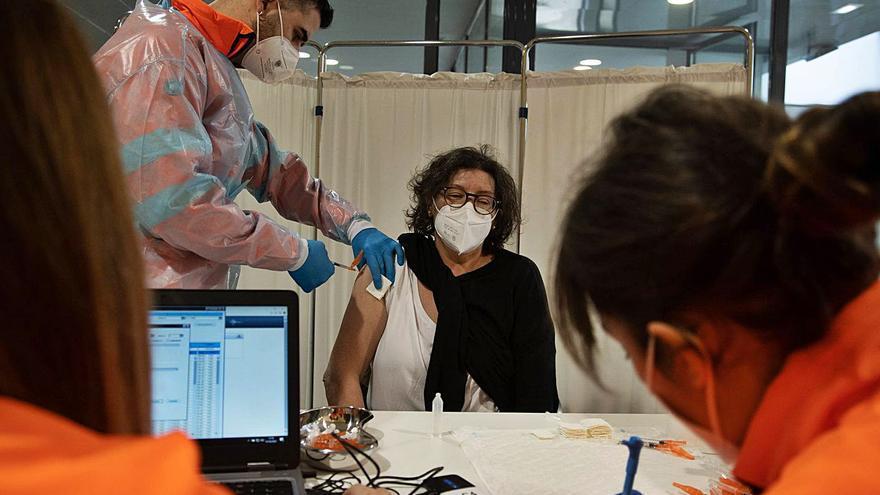 Comienza la vacunación masiva en Zamora para los de 65 años con Astrazeneca