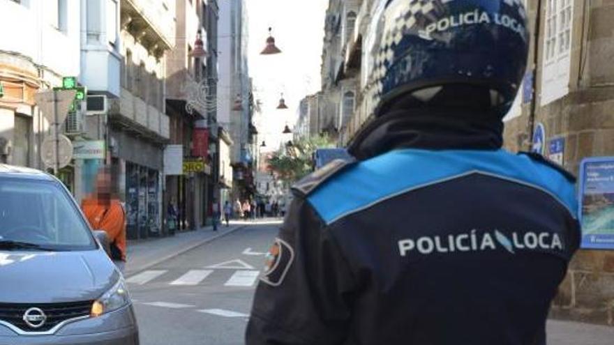 Detenido en Pontevedra por dar una paliza a su madre