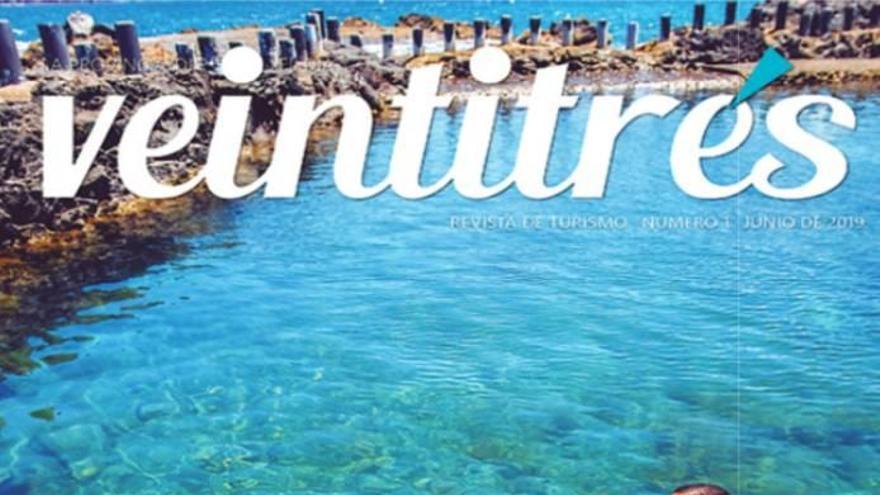 Nace 'Veintitrés grados', la revista regional sobre turismo en Canarias
