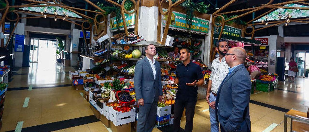 El Mercado del Puerto contará  con suelo nuevo y terrazas exteriores