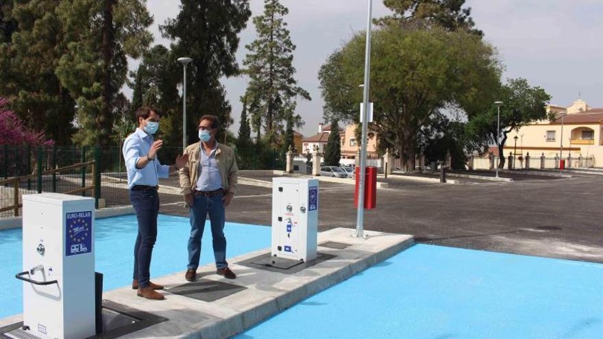 Abre un área de autocaravanas en Cabra en el entorno de la Vía Verde