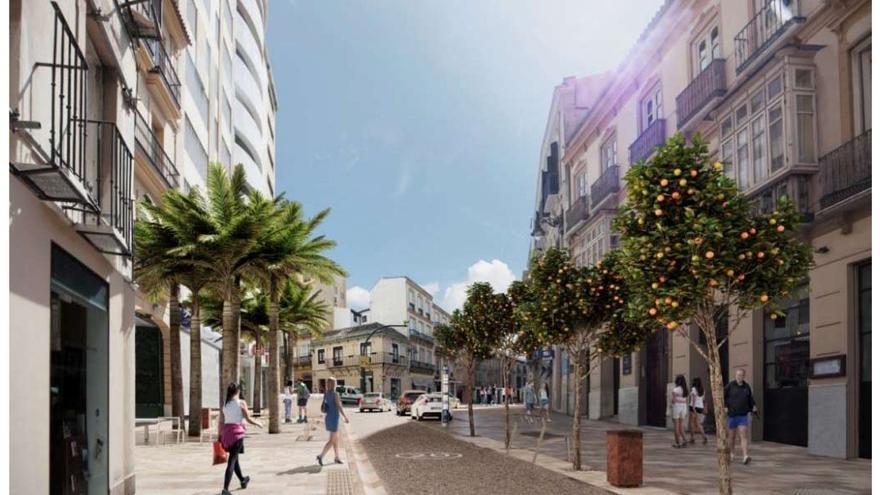 Málaga adjudica la reforma de la calle Carretería
