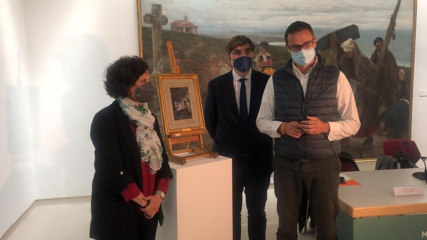 El Bellas Artes ya muestra su nuevo Goya, parte del depósito más importante que ha recibido el museo