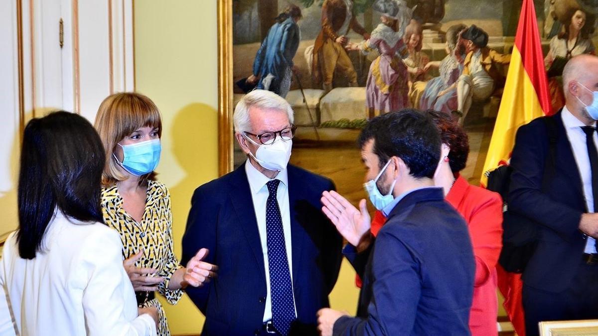 El conseller Vicent Marzà participó este miércoles en la Conferencia Sectorial de Educación que abordó la nueva ley orgánica de la FP