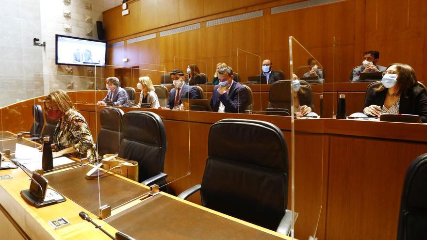 Las Cortes dan luz verde a la tramitación de la nueva ley del Juego de Aragón