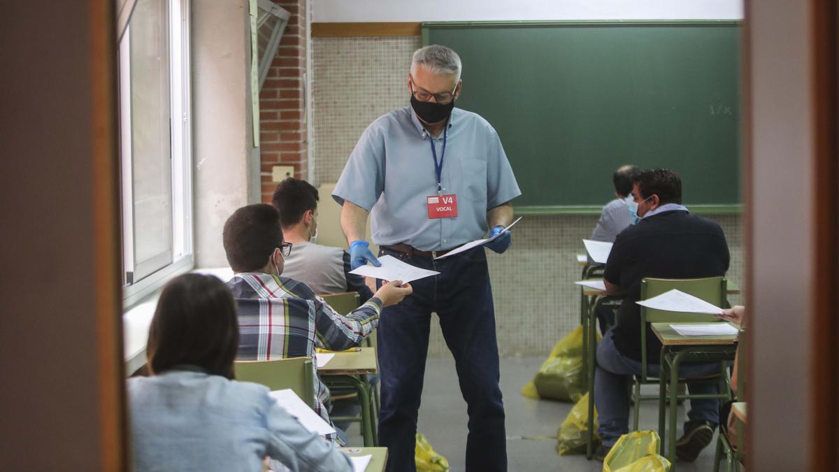 Inicio de las pruebas en el IES Benicalap de València