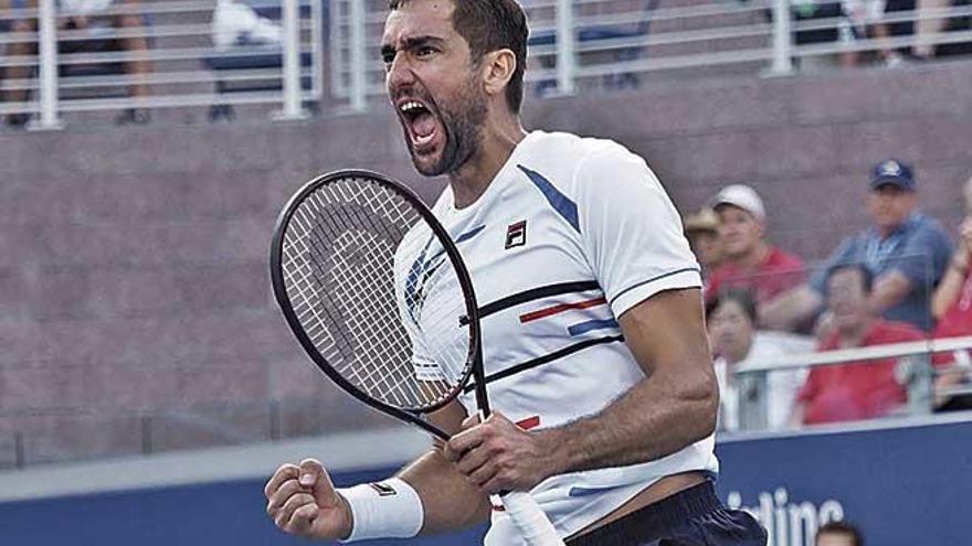 Cilic será el rival de Rafa Nadal en los octavos de final del US Open
