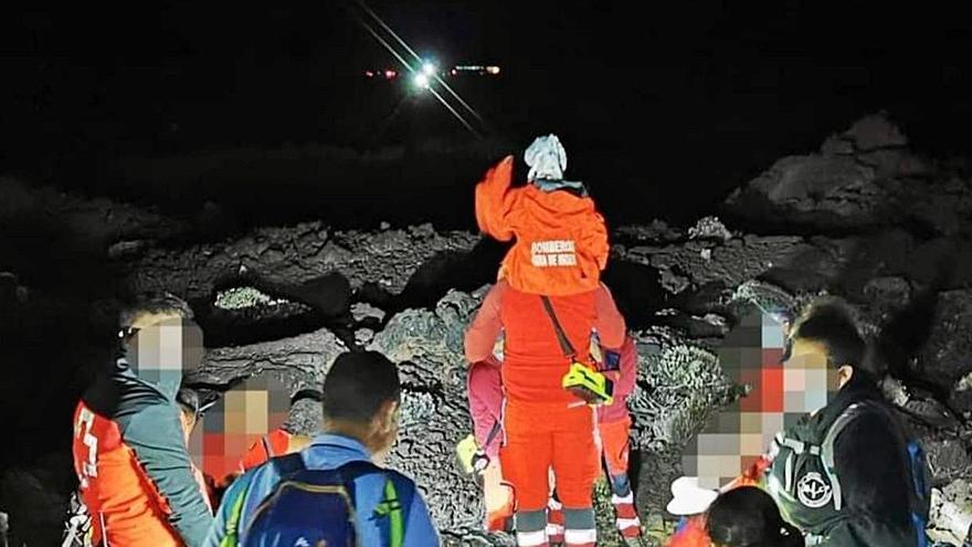 Los montañeros reclaman «máxima seguridad» en las excursiones al Teide