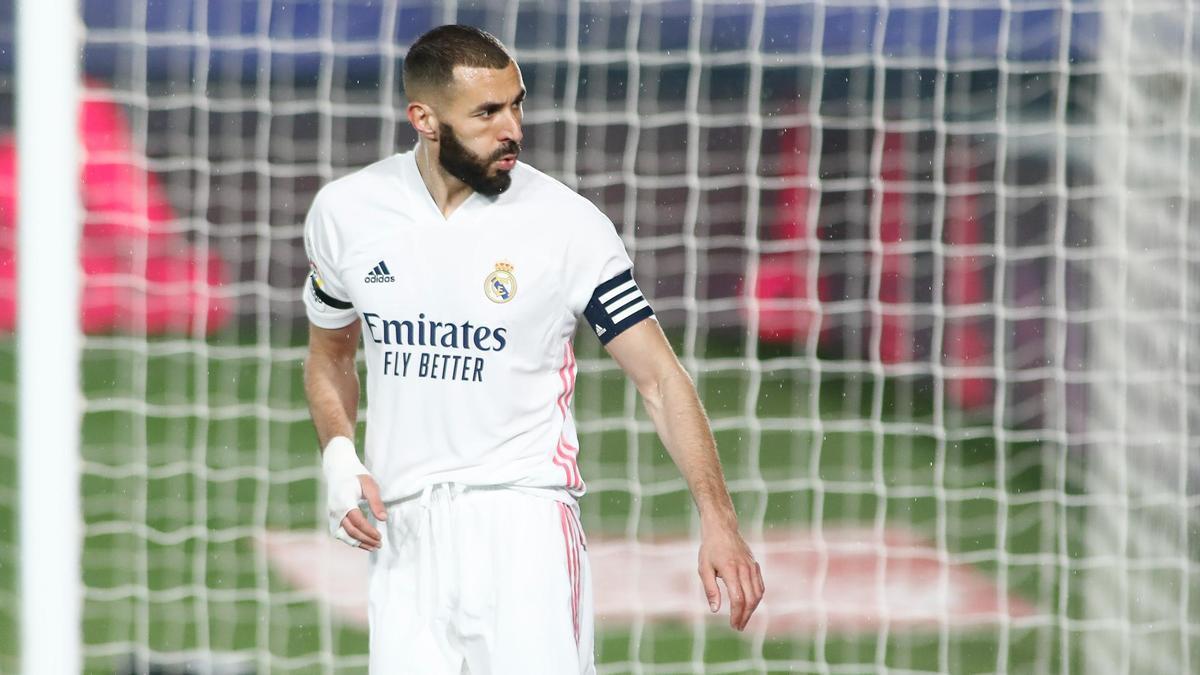Una imagen del delantero del Real Madrid Karim Benzema.