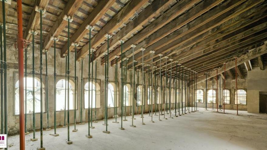 El futuro Centro de Arte Hortensia Herrero estrena página web y un recorrido virtual por las obras de rehabilitación